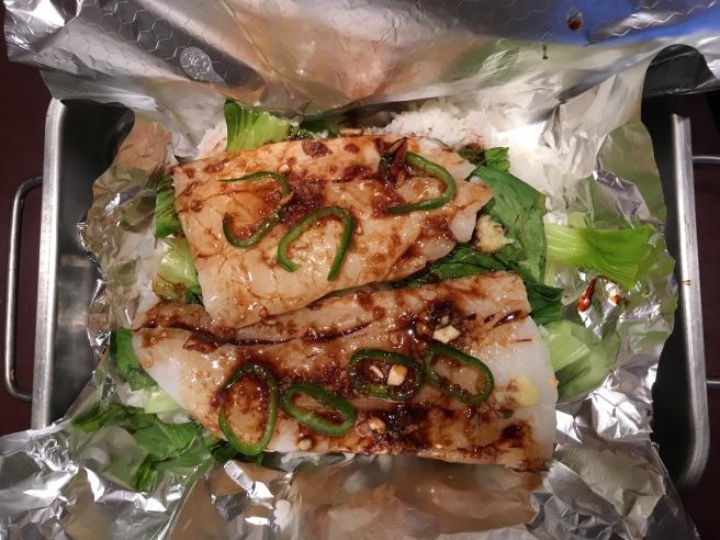 Asian fish parcel 3